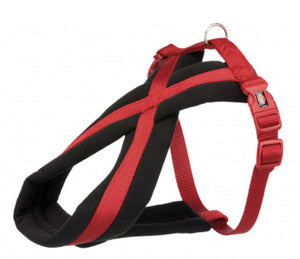 Trixie - Premium Touring Padded Harness Red