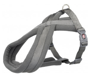 Trixie - Premium Touring Padded Harness Grey