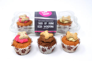 The Barking Bakery - Mini Iced Trios