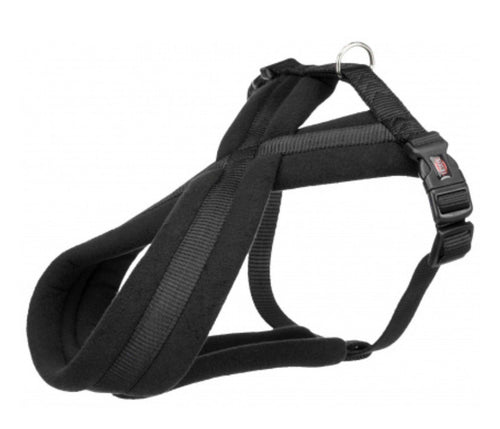 Trixie - Premium Touring Padded Harness Black