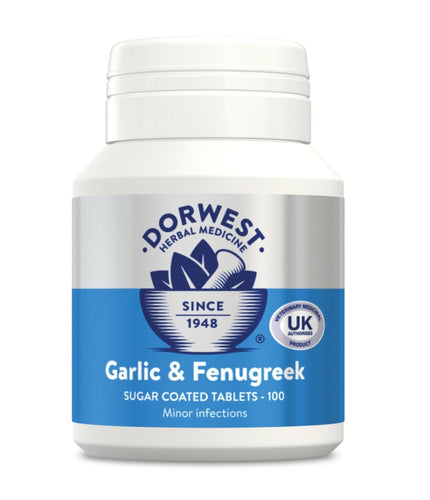 Dorwest - Garlic & Fenugreek Tablets