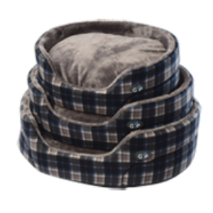 Gor Pets - Essence Bed Grey Check