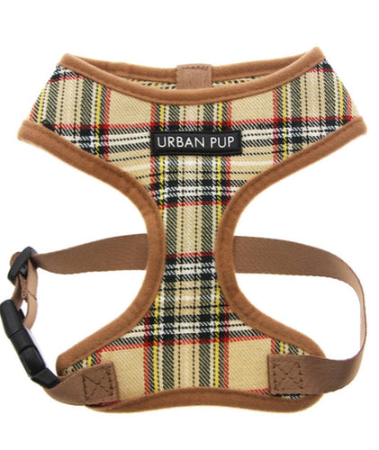 Urban Pup - Brown Tartan Harness
