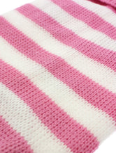 Load image into Gallery viewer, Urban Pup - Pink & White Candy Striped Sweater