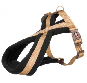 Trixie - Premium Touring Padded Harness Caramel