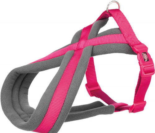 Trixie - Premium Touring Padded Harness Fuschia