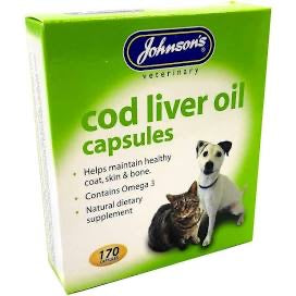 Johnson's - Cod Liver Oil Capsules (40)