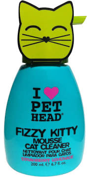 Pet Head - Fizzy Kitty Mousse Cat Cleaner 200ml