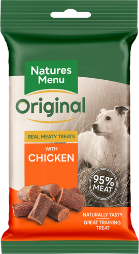 Natures Menu Meaty Dog Treats - Chicken