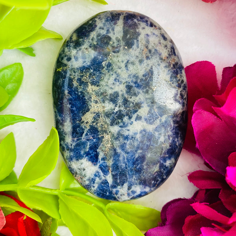 Sodalite Palm Stone - AP Crystals