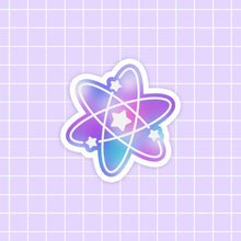 Load image into Gallery viewer, Starlume Atom sticker - glossy vinyl