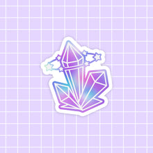 Load image into Gallery viewer, Starlume Crystal sticker - glossy vinyl