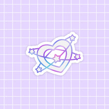 Load image into Gallery viewer, Starlume Heart sticker - glossy vinyl