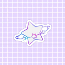 Load image into Gallery viewer, Starlume Star sticker - glossy vinyl
