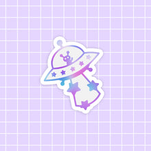 Load image into Gallery viewer, Starlume Alien sticker - glossy vinyl