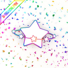 Load image into Gallery viewer, STARLUME - rainbow metal B GRADE enamel pin - Star