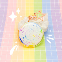 Load image into Gallery viewer, MEOWTER SPACE - Cloudy Sky acrylic charm / keychain