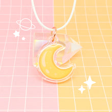 Load image into Gallery viewer, Little Things acrylic pendant - Simple Moon