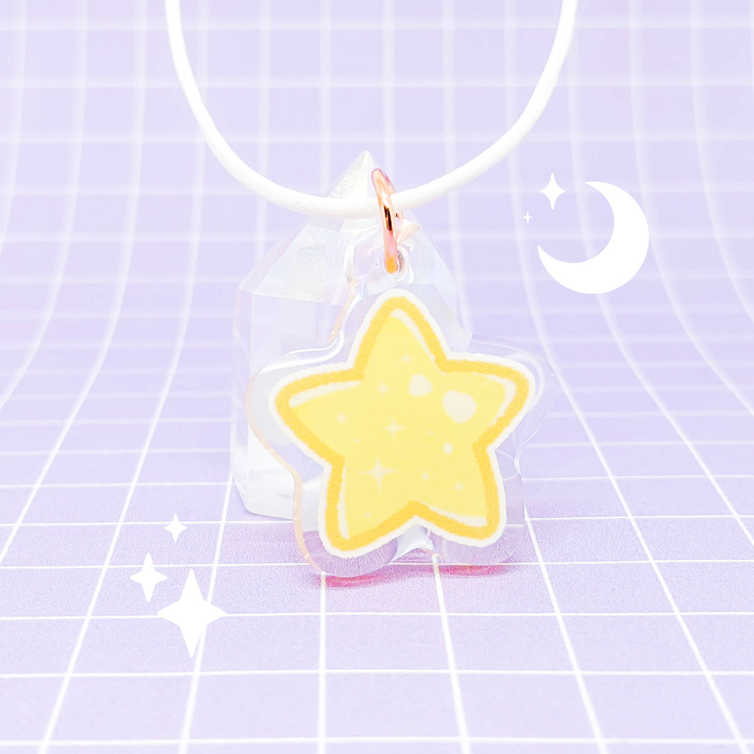 Little Things acrylic pendant - Simple Star