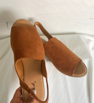 Merida chestnut sandals