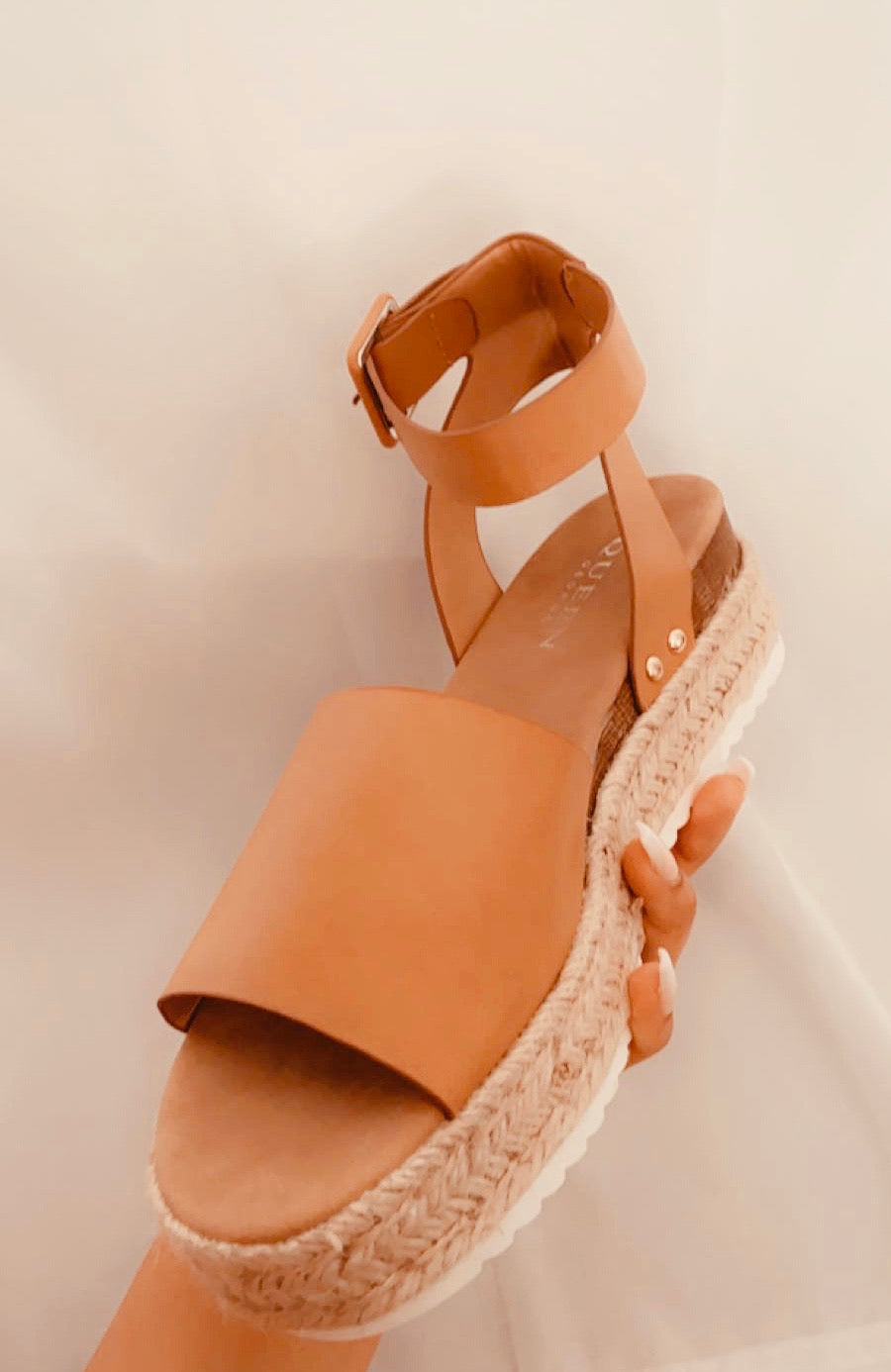 Belize tan sandals