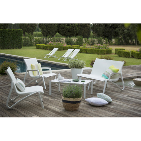 SUNSET Lounge Sofa with Armrests 2 seats - sos-casa-online-shop