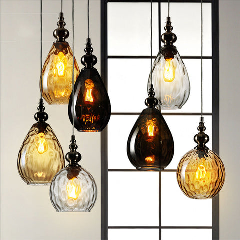 Nordic LED Glass Light Chandelier - sos-casa-online-shop