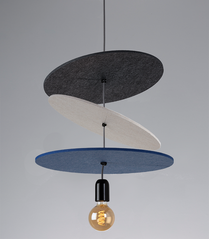About Space Acudisc acoustic pendant light