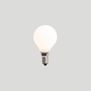 About Space G45 3W E14 2.7K PORCELAIN Light Bulb