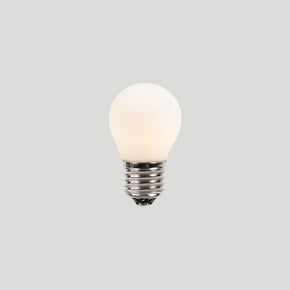 About Space G45 3W E27 2.7K PORCELAIN Light Bulb
