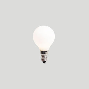 About Space G45 4W E14 3K PORCELAIN Light Bulb