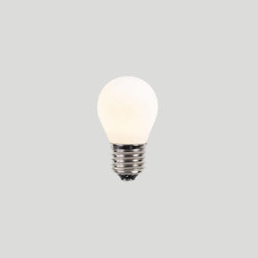 About Space G45 4W E27 3K PORCELAIN Light Bulb