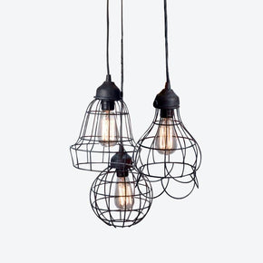 About Space WIRE 3 ROUND Pendant Light