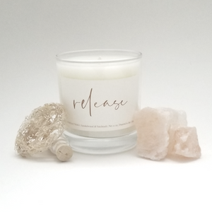 Relax | Release | Recharge - 11 oz Scented Soy Candle