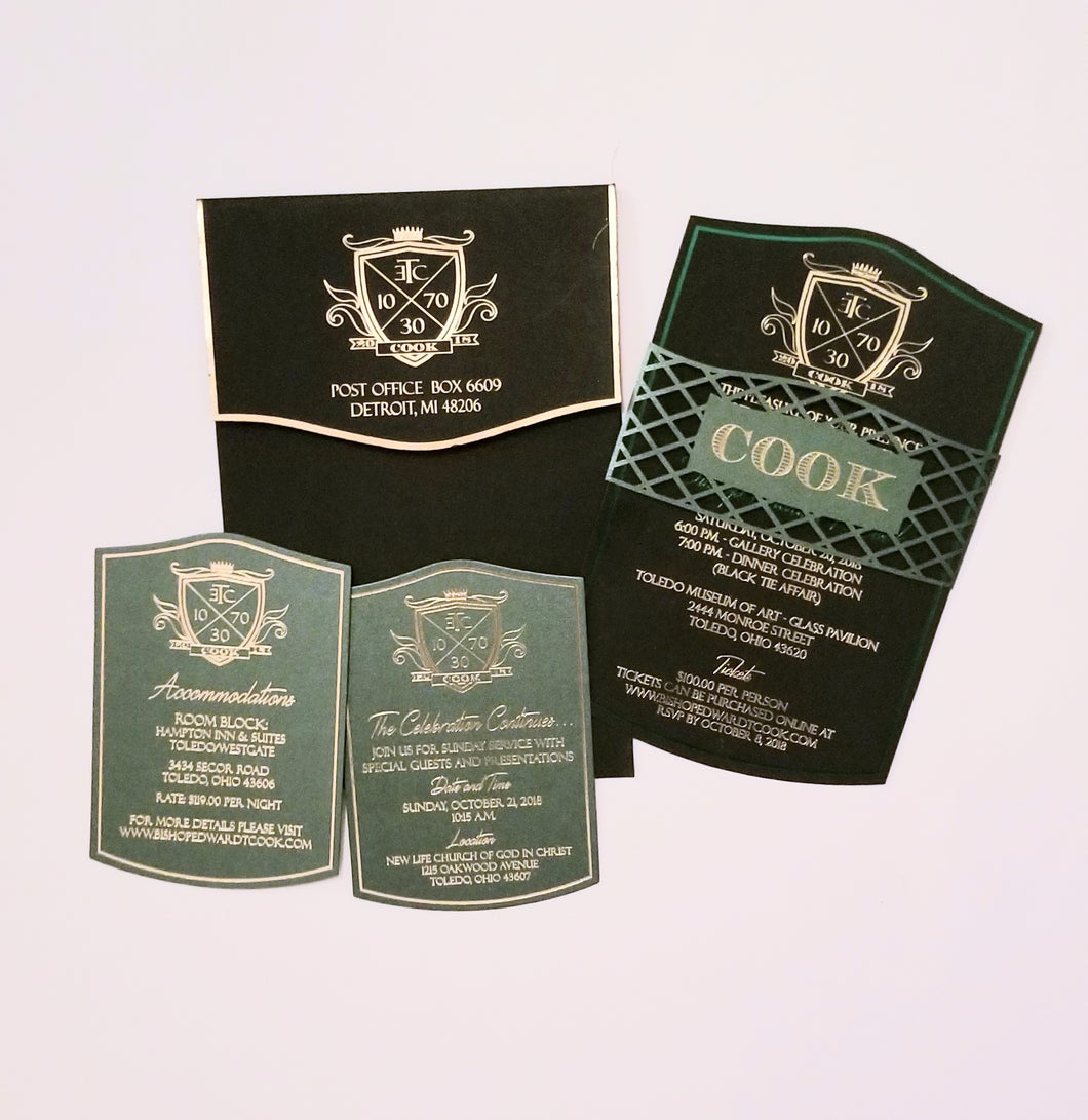 Regal Invitation Suite