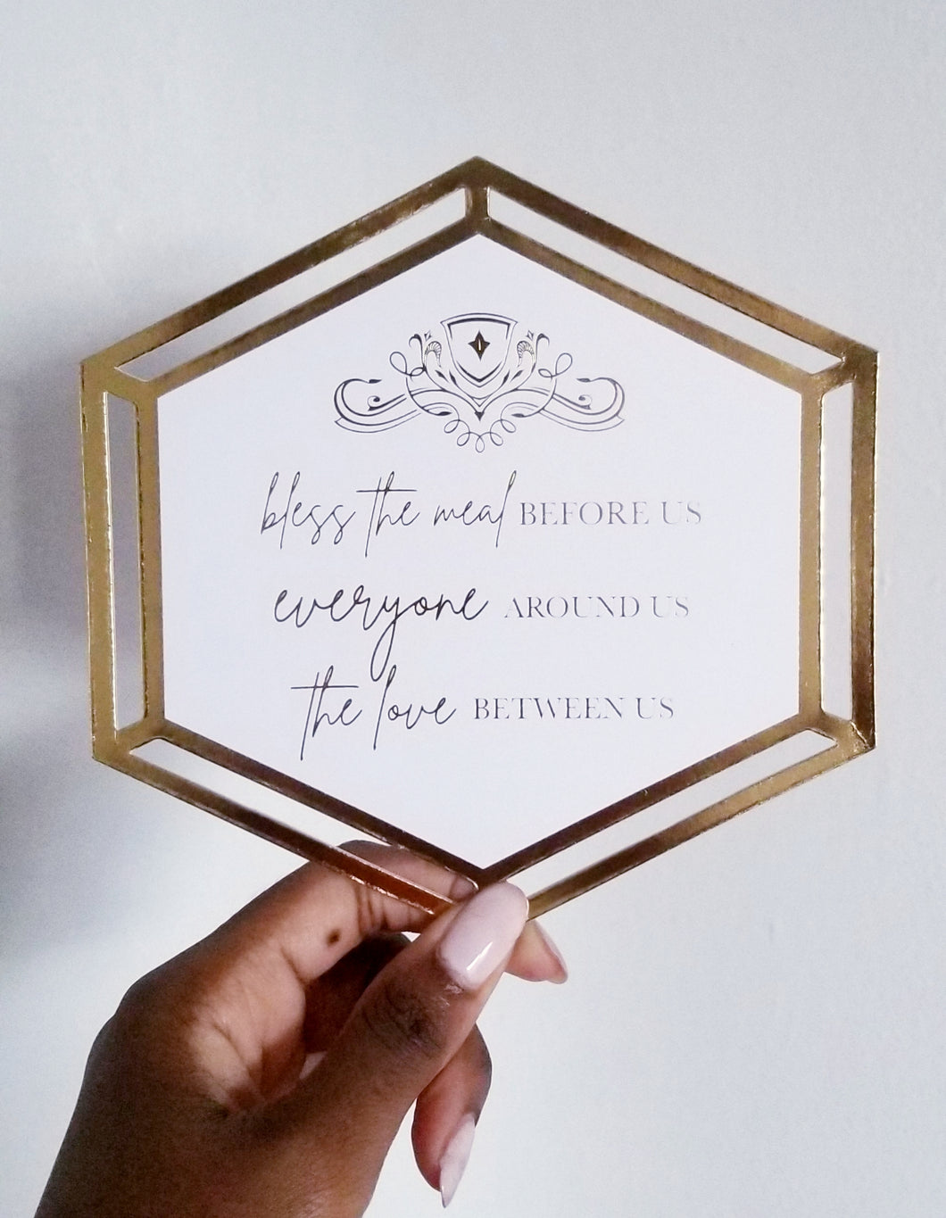 Tablescape Decor Cards - The Geometric