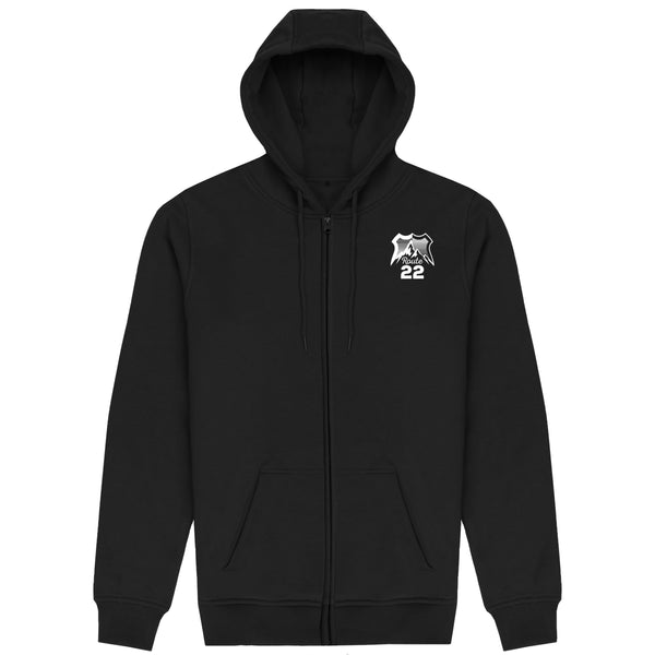 Escape The Ordinary Zip Up Hoodie Black | Japanese Blossom