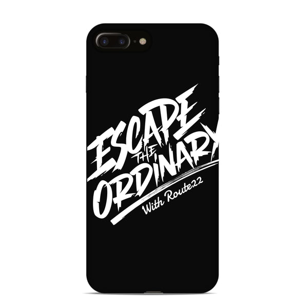 Escape The Ordinary Phone Case - Black