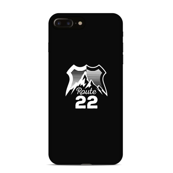 Route 22 Logo Phone Case - Black