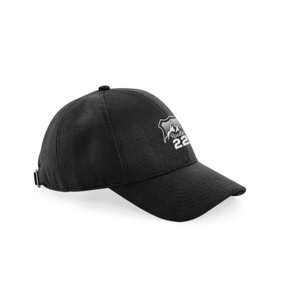Route 22 Logo Baseball Cap Black