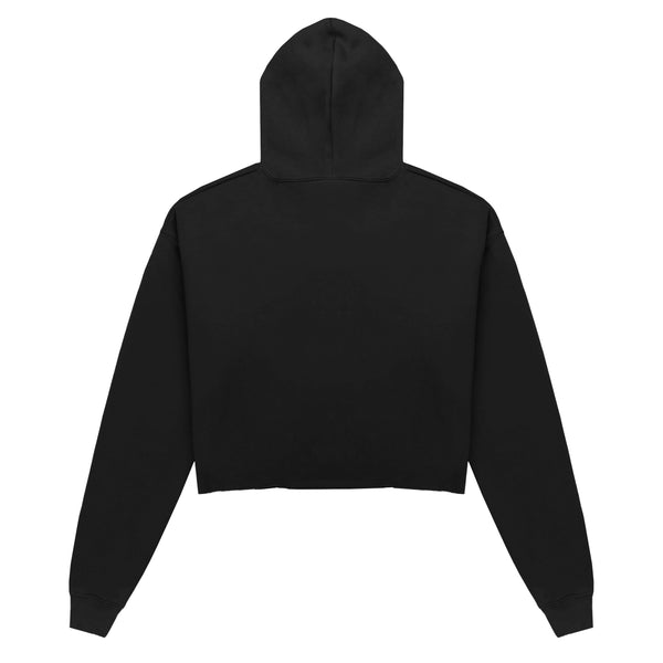 Escape The Ordinary Cropped Hoodie Black/Grape