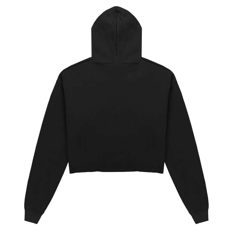 Escape The Ordinary Cropped Hoodie Black/Red
