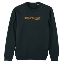 Escape The Ordinary Linear Premium Sweater Black/Orange