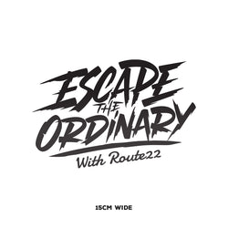 Route 22 Escape The Ordinary (Stacked) – Small