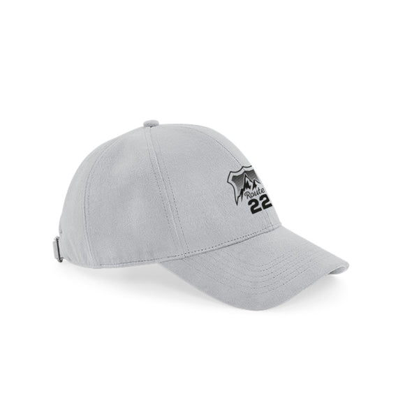 Route 22 Logo Baseball Cap Grey