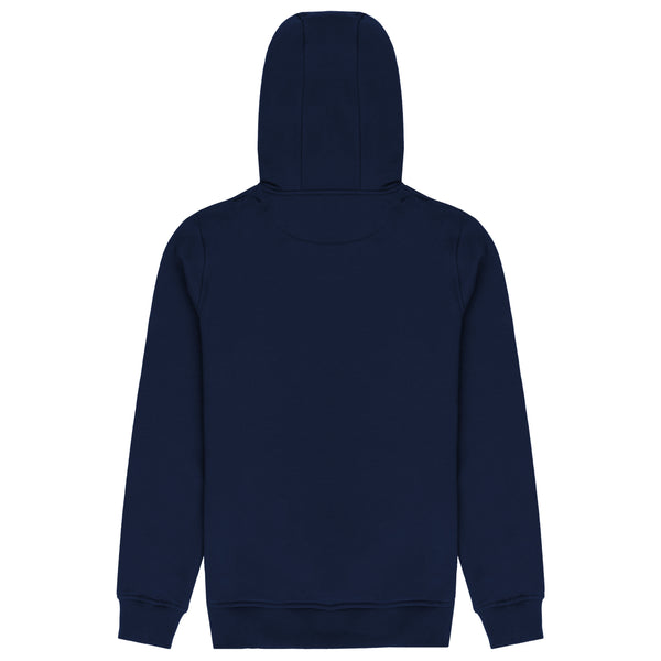 Escape The Ordinary Stacked Hoodie Navy/Gold