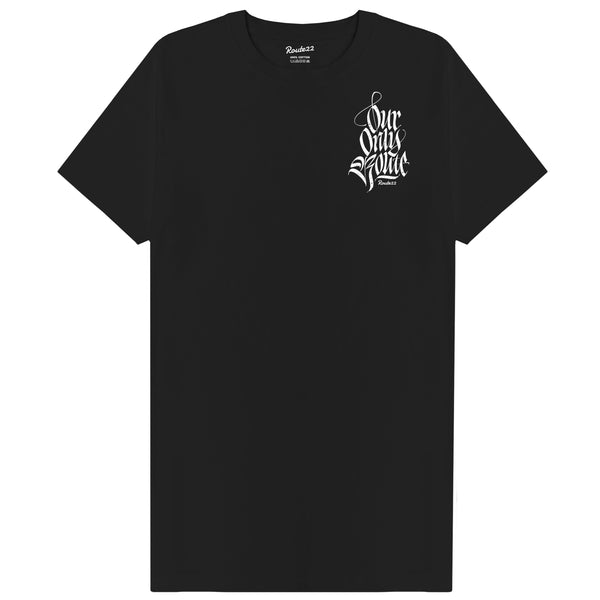 Our Only Route Tee Black