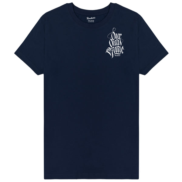 Our Only Route Tee Navy