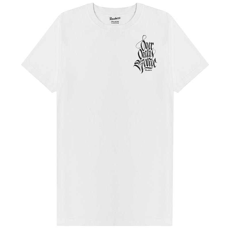 Our Only Route Tee White