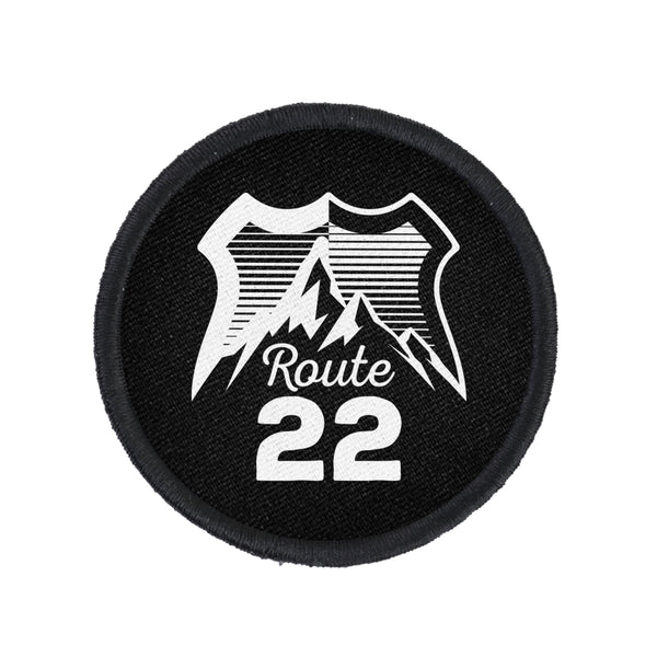 Route 22 Logo Patch